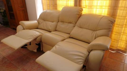 ... G Plan Mistral Leather 3 Seater Sofa ... & Famous Furniture islam-shia.org